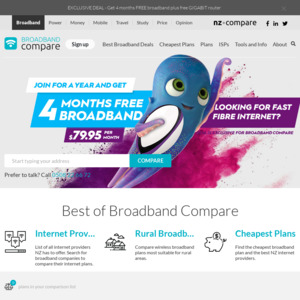Six Months Half-Price Broadband Exclusive Deal (from $84 95
