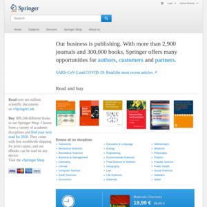 springer.com