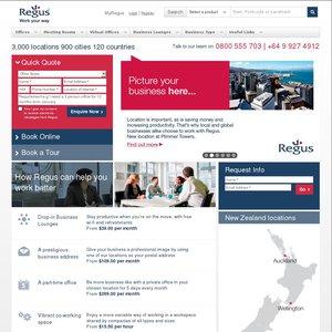 FREE Two-Year Regus Businessworld Gold Membership ($820