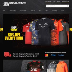 New Zealand Jerseys