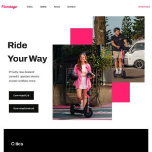 flamingoscooters.com