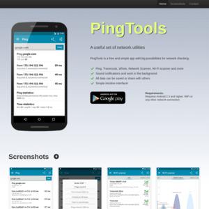 pingtools.org