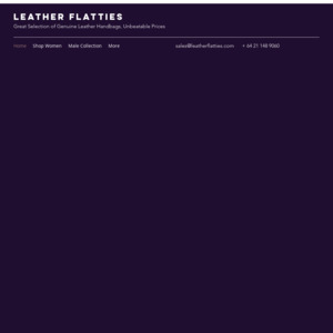Leather Flatties
