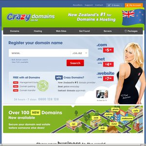Crazy domain deals