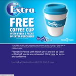 FREE Travel Cup (Valued $9.95) with Purchase of 2 Packs of Wrigley's Extra Chewing Gum @ Various Participating Outlets