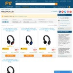 Laser AO-HEAD15 DJ Style Over Ear Headphones (4 colors) = $14.89 @ PB Tech (Free Shipping)