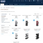 Delonghi Dedica Pump Espresso now $172.50 was $399.99 save 57% @ Delonghi Official Website