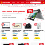 Spend $899+ Get $250 Gift Card @ Noel Leeming