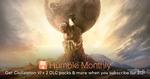 Humble Monthly Bundle (February 2018) Includes Sid Meier's Civilization VI + 2 DLC Packs $12 USD (~$17 NZD)