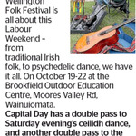 Win a Double Pass to Wellington Folk Festival's Ceilidh Dance from The Dominion Post