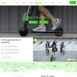 Free 3 x $1 Credits for Use on Lime Electric Scooters @ Lime Bike (Auckland, Christchurch)
