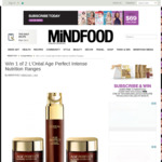 Win 1 of 2 L'Oréal Age Perfect Intense Nutrition Ranges from Mindfood