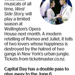 Win a Double Pass to West Side Story from The Dominion Post (Wellington)