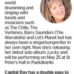 Win a Double Pass to see Caroline Easther from The Dominion Post (Wellington)