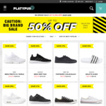 Up to 50% off Selected Items @ Platypus