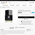 Yves Saint Laurent Jazz EDT 80ml $59 @ Life Pharmacy