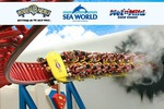 Unlimited Pass to Movie World, Sea World, Wet & Wild, Paradise Country (Aus) $86.30 (Save $75)