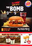 Two Whopper Junior Burgers and Large Fries $7.50 + More Coupons @ Burger King
