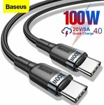 0.5m 60W USB Type-C Cable US$2.08 (~NZ$2.98) Delivered @ Baseus Store AliExpress
