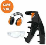 Stihl Chainsaw Safety Chaps, Glasses, Earmuffs $159 (Save $103) + Free Delivery @ Stihl Shop