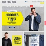 20% off Sitewide on Connor