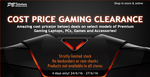 PB Tech Cost Price Gaming Clearance - Games and Computers