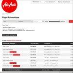 Auckland Return to Kuala Lumpur $342, Gold Coast $212, Singapore $417, Osaka $634 on Air Asia