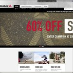60% off Everything Including Sale Items @ Reebok