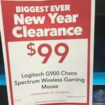 Logitech G900 Chaos Spectrum Wireless Gaming Mouse $99 (Usually Sold for $179+) @ Harvey Norman