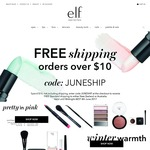 e.l.f. Cosmetics Australia Free Shipping Min Order AUD $10 Make-up and Tools From AUD $3