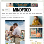 Win 1 of 10 copies of Breathe on DVD from Mindfood