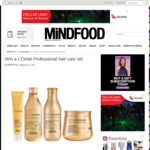 Win 1 of 2 L'Oréal Professional Hair Care Sets from Mindfood