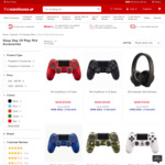 PS4 DualShock Controller, Multiple Colours $59 (Normally $99) @ The Warehouse