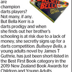 Win 1 of 2 copies of Bullseye Bella from The Dominion Post