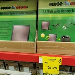 7.5W Solar Battery Trickle Charger $21.75 @ Bunnings
