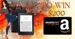 Win Amazon Kindle Paperwhite + $200 Amazon Gift Card