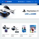 Refurbished PlayStation VR $288, Move Controller Twin Pack $130 at EB Games | PS4 Camera V2 $91.80 at The Market
