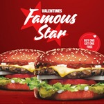 Buy One Get One Free Famous Star Burger @ Carls Jr