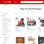 Buy 1 Get 1 Half Price NERF Blaster & Hashbro Games; LEGO City, Friends & Duplo; Fisher-Price; Hot Wheels; Paw Patrol Toys @ TWH