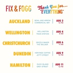 Free Jar of Fix and Fogg at Certain Locations