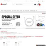Free Fast Charge Micro USB/Lightning Cable Delivered from Zapals (New Registrants)
