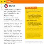 10c/Litre off Fuel @ Caltex with AA Smartfuel