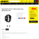 Apple Watch Series 1 - $349 @ JB Hi-Fi