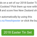 Cookie Time Easter Free Shipping Code @Munchtime