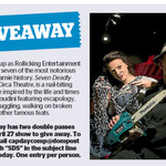 Win 1 of 2 Double Passes to Seven Deadly Stunts from The Dominion Post (Wellington)