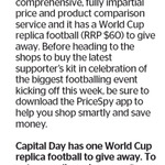 Win a World Cup Replica Football from The Dominion Post