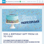 Win a 3 Night P&O Australian Sea Break Cruise for 2 from Carnival Cruises