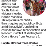 Win 1 of 3 Double Passes to Madiba The Musical from The Dominion Post (Wellington)