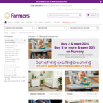 50% off Nursery @ Farmers