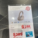 Sony WH-1000XM3 $299 & WH-1000XM4 $386 @ Sony Store